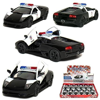 Amazon Com 12 Pcs In Box 5 Lamborghini Murcielago Lp640 4 Police1