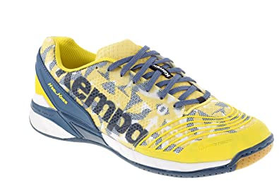 Kempa Attack One, Chaussures de Handball Mixte Adulte, Multicolore (Blaz  Jaune/Pétrole