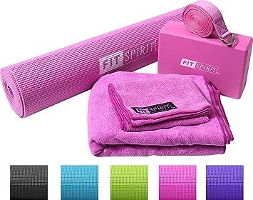 Fit Spirit - Esterilla de yoga impresa., 3mm - Mat Only ...