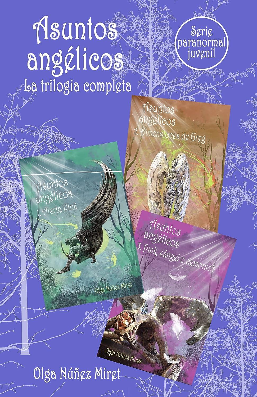Asuntos angélicos. La trilogía completa.: Serie paranormal juvenil. eBook: Núñez Miret, Olga, Vidal, Lourdes: Amazon.es: Tienda Kindle