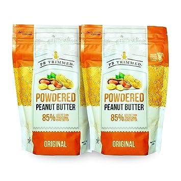 cb39f990831e PB Trimmed Powder Peanut Butter 1 LB (2-Pack) Original