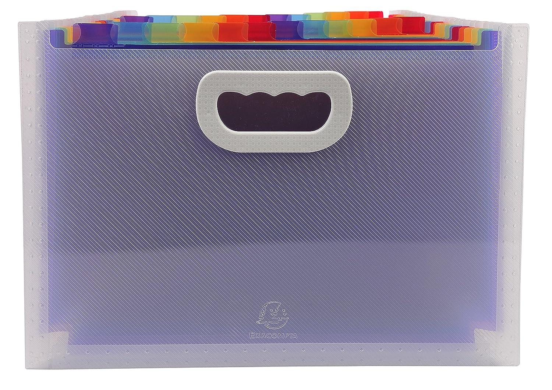 /Monedero Fin Maxi 24/scomparti PP Crystal Exacompta/