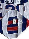 1980 USA Olympic Hockey #21 Mike Eruzione #17