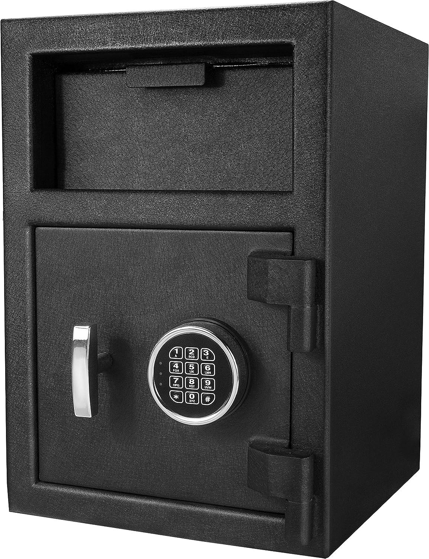 Barska AX12588 Standard Depository Keypad Safe,Black 91guGO3UFYLSL1500_