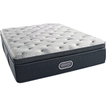 Amazon Com Beautyrest Silver Plush 900 Twin Innerspring