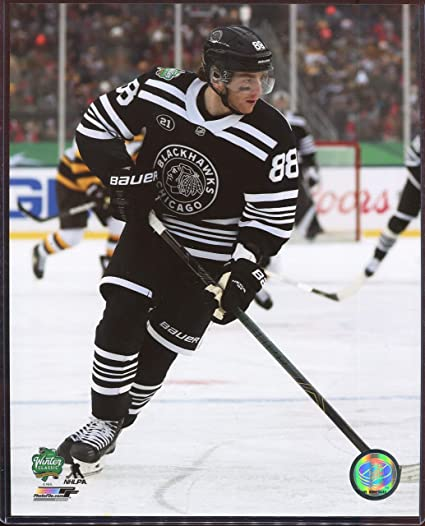 ead65d02562 Image Unavailable. Image not available for. Color: Patrick Kane 2019 Winter  Classic Officially Licensed Chicago Blackhawks ...