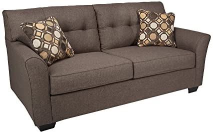 amazon com ashley furniture signature design tibbee sofa