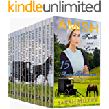 Amish Romance 15 Book Box Set: Amish Faith and Love: Sweet, Clean, and Inspirational Book Bundle