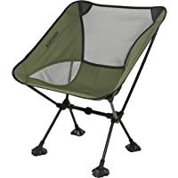 MARCHWAY Ultralight Folding Camping Chair with Anti-Sinking Wide Feet, Portable Compact for Outdoor Camp, Beach, Travel…