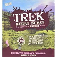 Trek Protein Berry Burst 3x55g Bar MP - Case of 36 Bars