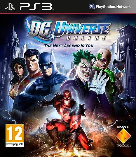 SCARICARE DC UNIVERSE ONLINE PS3 DATI RIMASTI DA