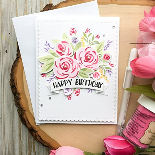 Amazon Handmade Birthday Card Flower Birthday Cards A2