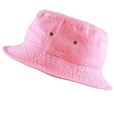 df9cebaf8c0 THE HAT DEPOT 300N Unisex 100% Cotton Packable Summer Travel Bucket Hat   Amazon.co.uk  Clothing