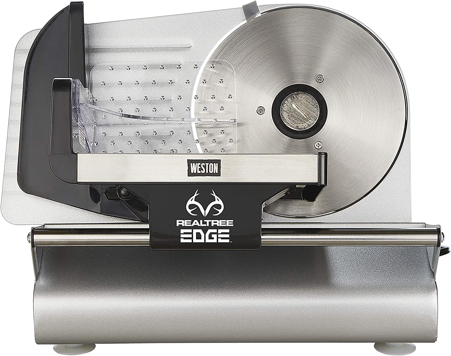 "Weston Realtree Edge 7 1/2"" 200 Watt Meat Slicer, Stainless Steel , 200W"