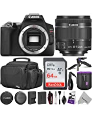 $649 Get Canon EOS Rebel SL3 DSLR Camera with EF-S 18-55mm f/4-5.6 is STM Lens w/Advanced Photo & Travel Bundle