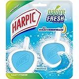 Harpic Pack de 2 Blocs Nettoyant WC Galet Hygiène Marine