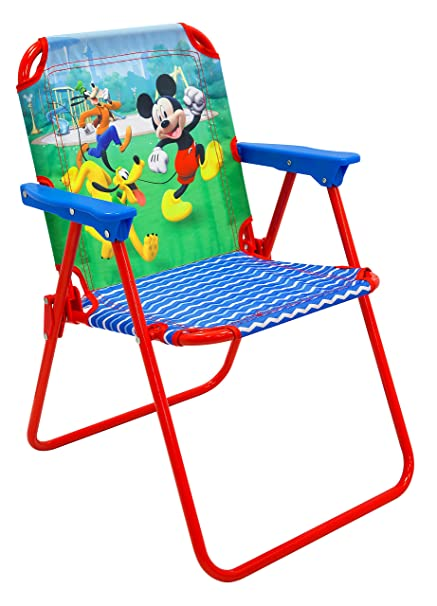 Image Unavailable  sc 1 st  Amazon.com & Amazon.com: Mickey Patio Chair for Kids Portable Folding Lawn Chair ...