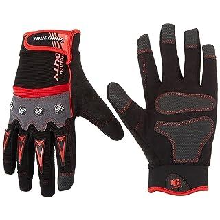 True Grip Heavy Duty Work Gloves, Large
