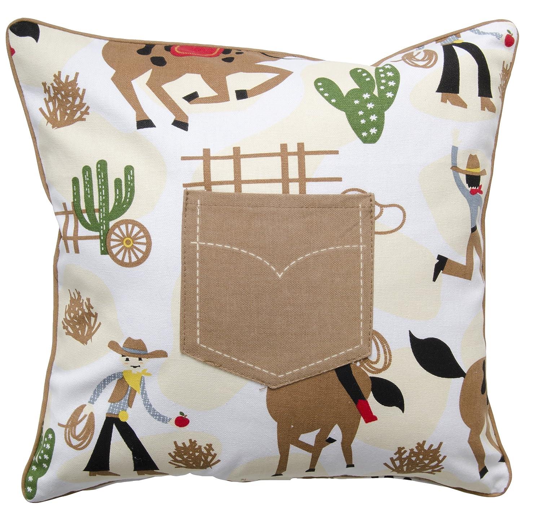 Now Designs Rootin Tootin Cushion