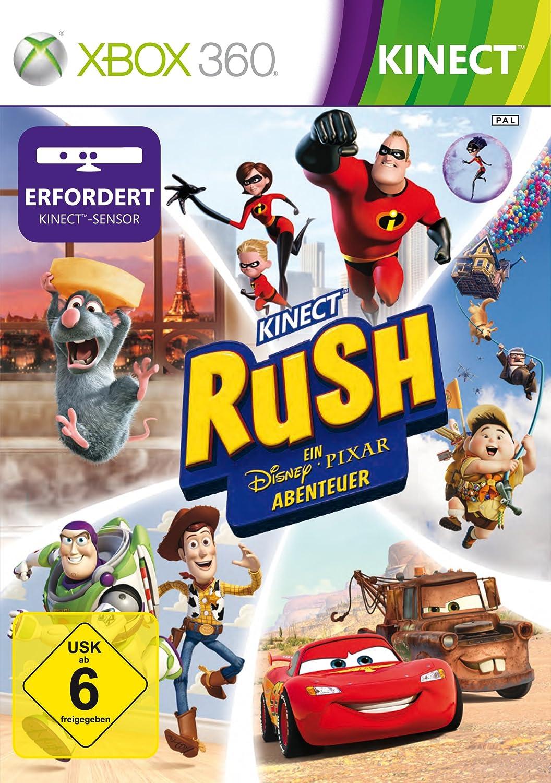 Microsoft Kinect Rush - Juego (Xbox 360, GE, Xbox 360, Aventura, E (para todos)): Amazon.es: Videojuegos
