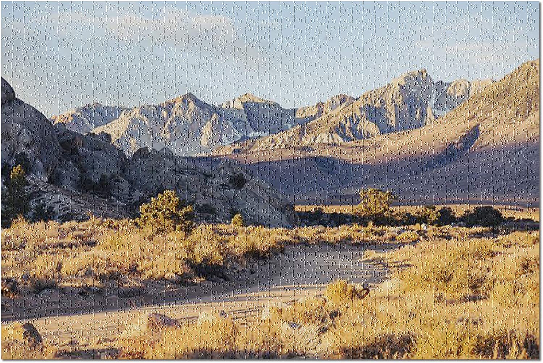 Amazon Com Eastern Sierra Nevada Mountain Range Landscape 9029946 Premium 1000 Piece Jigsaw Puzzle For Adults 19x27 Toys Games