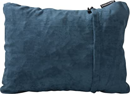 Therm-a-Rest Compressible Journey Pillow for Camping, Backpacking, Airplanes and Road Trips, Denim, Medium - 14 x 18 Inches