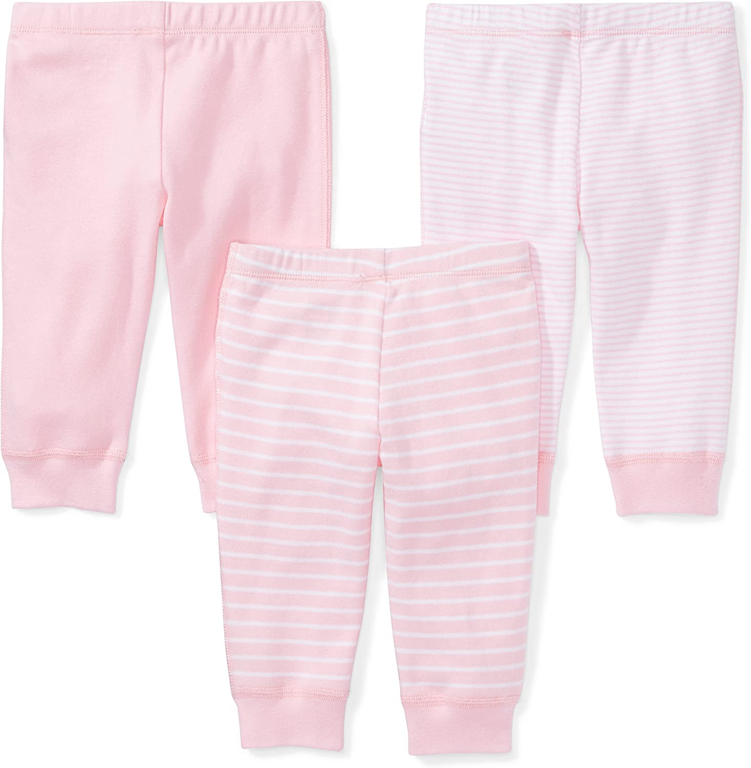 Moon and Back Baby Set of 3 Organic Cotton Pants