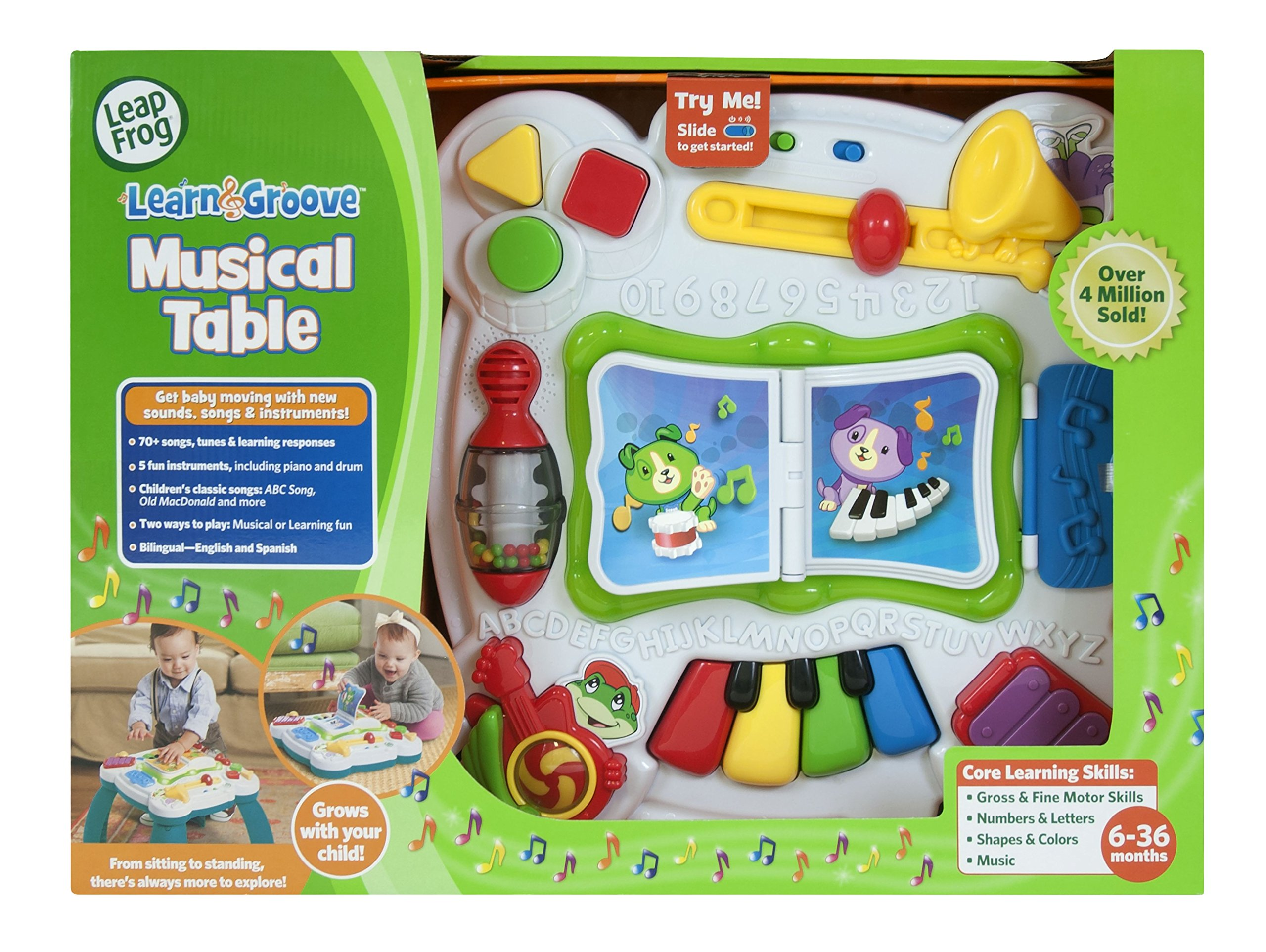 LeapFrog Learn and Groove Musical Table Activity Center by LeapFrog (Image #6)
