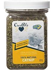 Our Pets Premium North-American Grown Catnip, 2.25 Ounce Jar