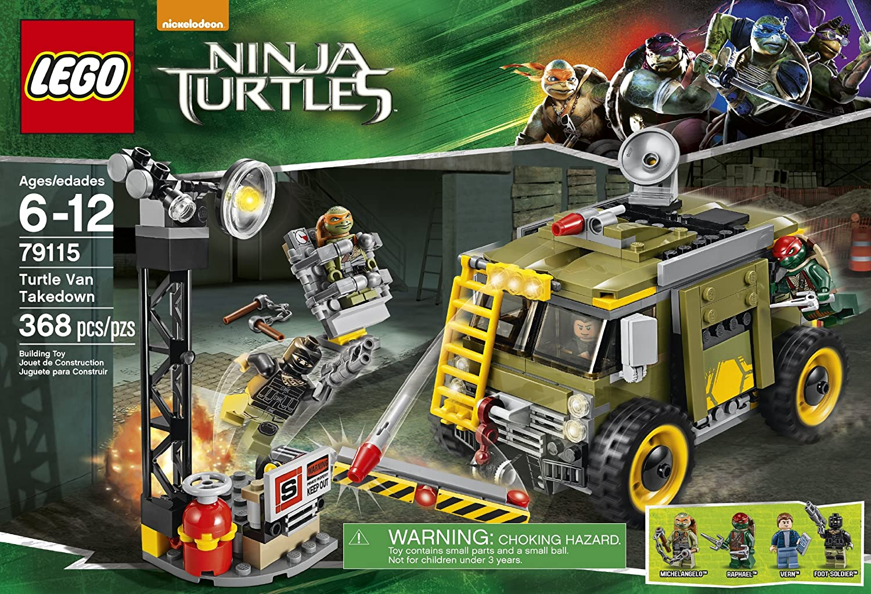 Lego Ninja Turtles Turtle Van Takedown [79115 - 368 PCS ...
