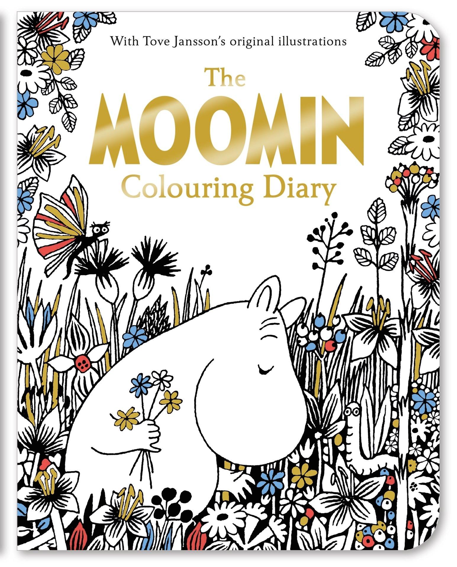 The Moomin Colouring Diary
