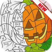 Education Halloween Coloring Art Books