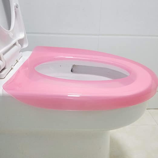 trasparente BAOZIV587 Guaina igienica di copertura igienica per il personale sanitario speciale per evitare il bagno pubblico in plastica con alloggiamento incrociato