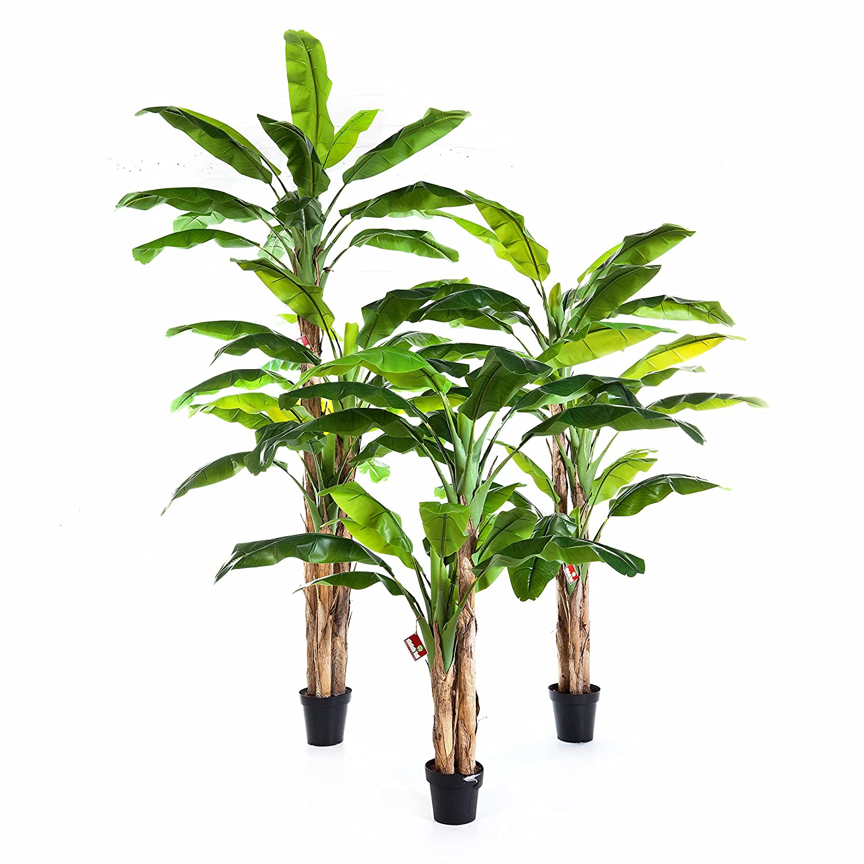 180 cm artplants Bananier Artificiel Amaru Arbre Artificiel//Faux Palmier