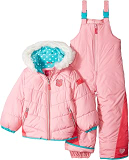 7060dd25cf7b Amazon.com  Arctic Quest Infant   Toddler Girls Puffer Jacket with ...