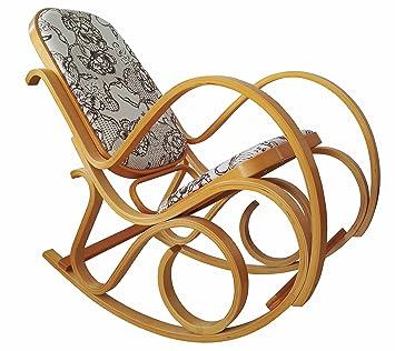Schaukelstuhl Im Thonet Stuhl Freischwinger Sessel Gartenmobel