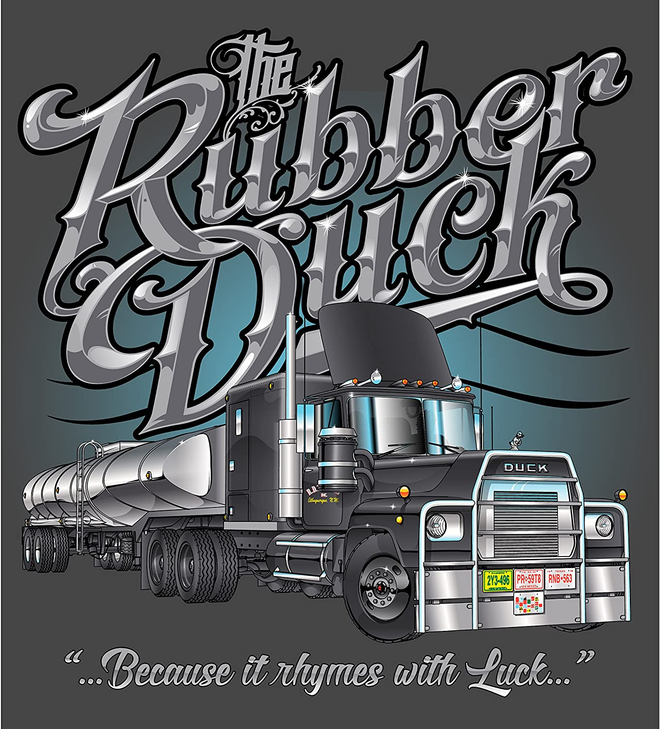 XXX-Large Big Rig Tees Rubber Duck T-Shirt