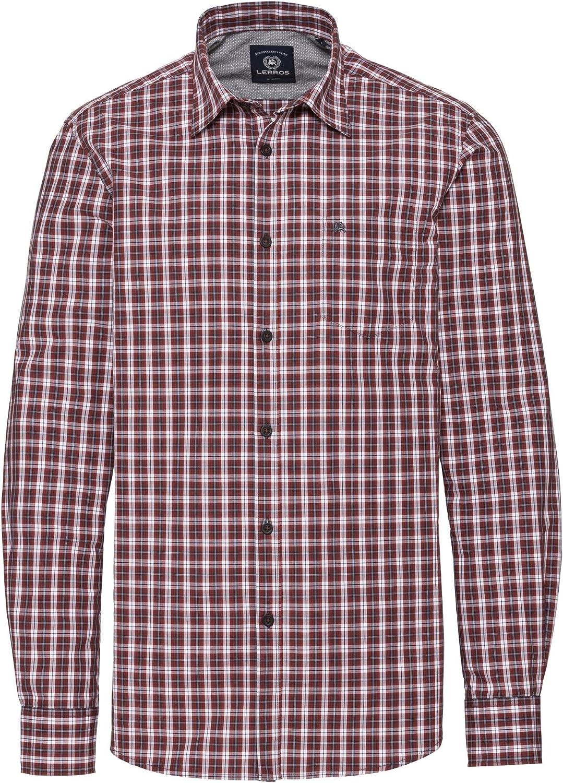 LERROS Herren Hemd Camisa Casual para Hombre: Amazon.es: Ropa y accesorios