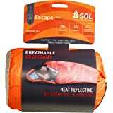 S.O.L. Survive Outdoors Longer S.O.L. 70% Reflective Escape Bivvy, Orange