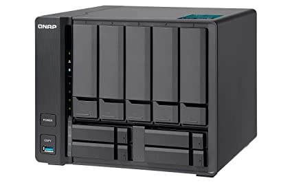 QNAP TVS-951X Ethernet Torre Negro NAS - Unidad Raid (20 TB, HDD+ ...