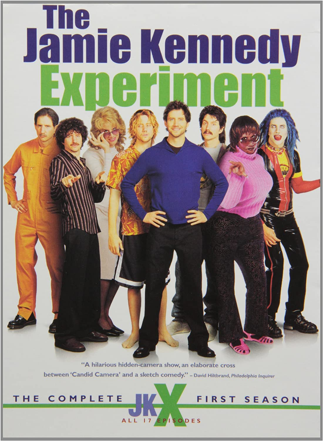 Amazon.com: The Jamie Kennedy Experiment - The Complete First & Second Seasons: Movies & TV