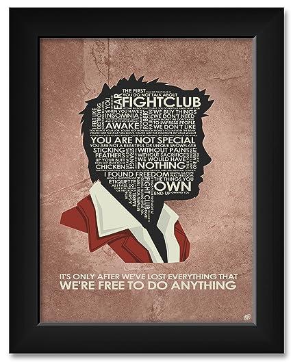 "Love and Mayhem Movie Poster Art  18/""x24/"" Poster Fight Club"