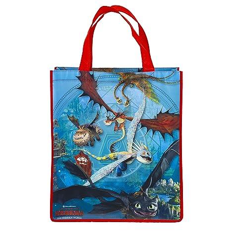 Amazon.com: Cómo entrenar a tu dragón 3 bolsa reutilizable ...