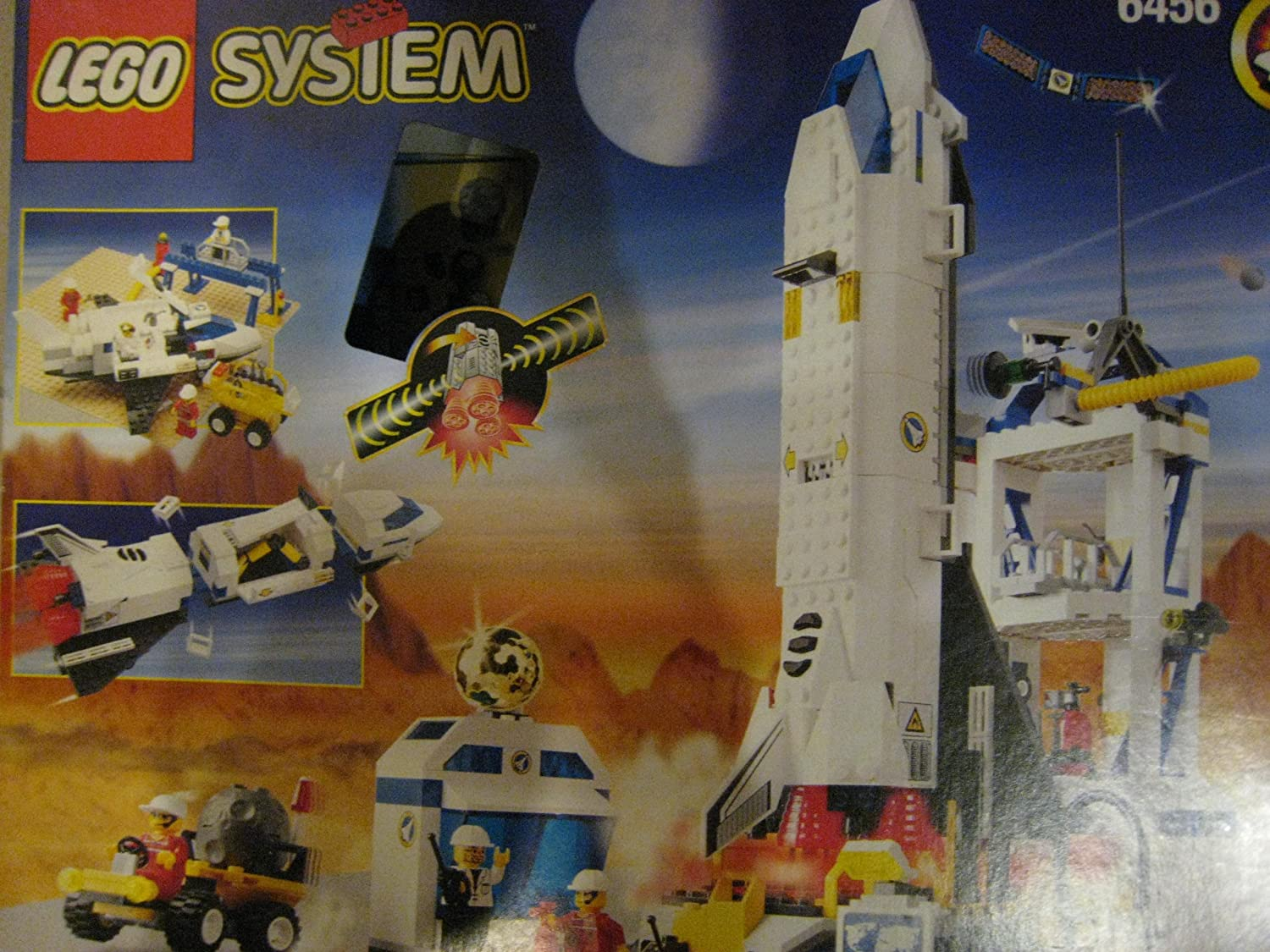 Lego Set #6456 MISSION CONTROL with Light and Sound