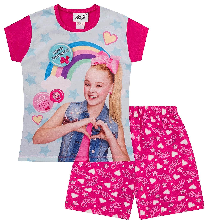 Girl's Official JoJo Siwa Rainbow Pyjamas Short
