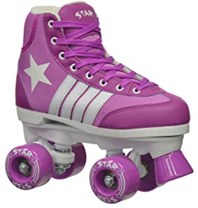 Epic Skates Pegasus Indoor/Outdoor Classic High-Top Quad Roller Skates