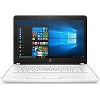 HP 14-bw021na 14-Inch Laptop (AMD Dual-Core A6-9220 APU 2.9GHz, 8GB RAM, 1TB HDD, AMD Radeon R4 Graphics, Windows 10) - White