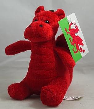 Mini Plush Welsh Dragon Souvenir Soft Toy  Amazon.co.uk  Toys   Games 27c8f70a07f3