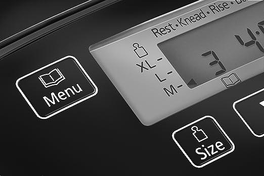 Panasonic SD-ZB2512KXE - Panificadora con dispensador (33 modos ...