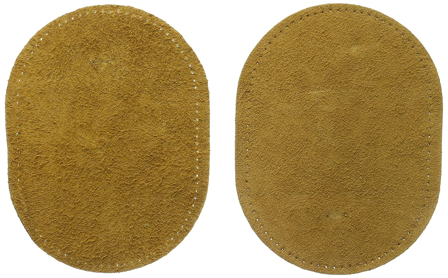 Dritz Suede Cowhide Elbow Patches - Beige 4-3/4 by 6-1/4 inches - 2 Count by Dritz   B0018N3YAQ